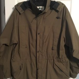 Vintage REI GORE-TEX Waterproof Lined Rain Jacket